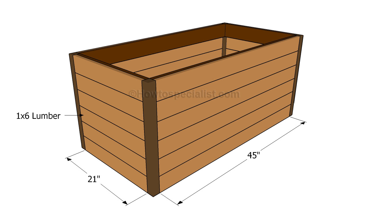 ... toy box | HowToSpecialist - How to Build, Step by Step DIY Plans