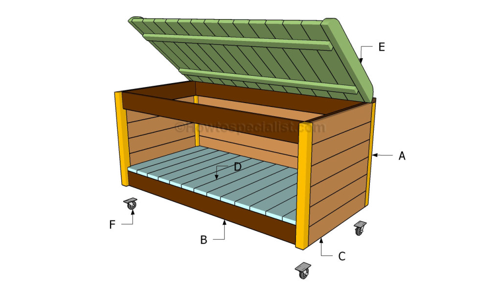 plans to build a toy box