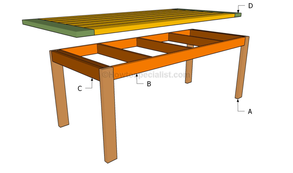 download how to build a kitchen table plans free