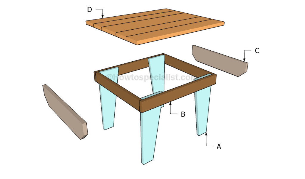 how to build a small table howtospecialist how to