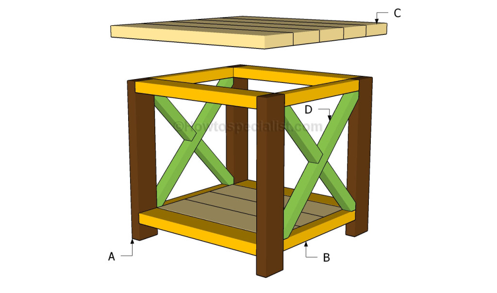woodworking plans mission end table