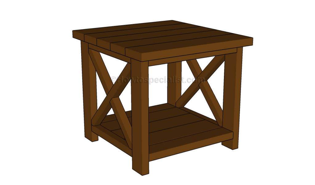 Diy End Table Plans