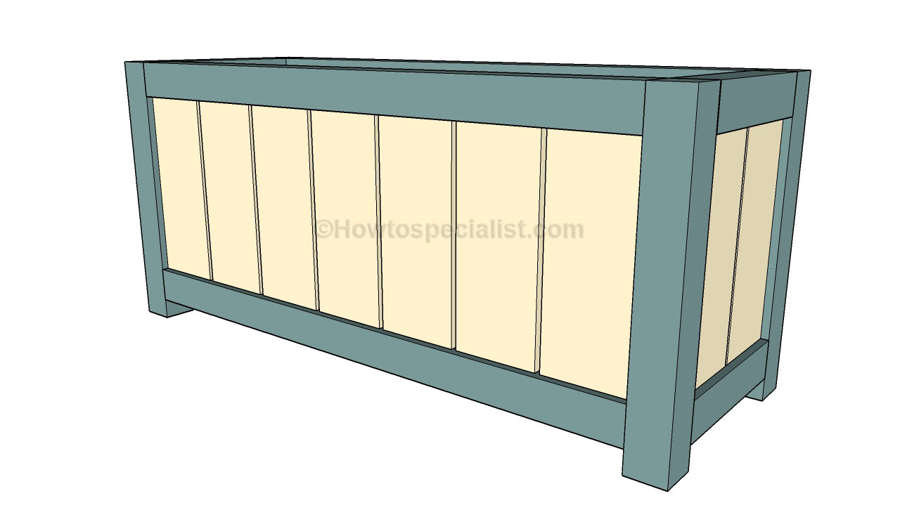 Woodwork diy planter box plans plans pdf download free for How to build box steps