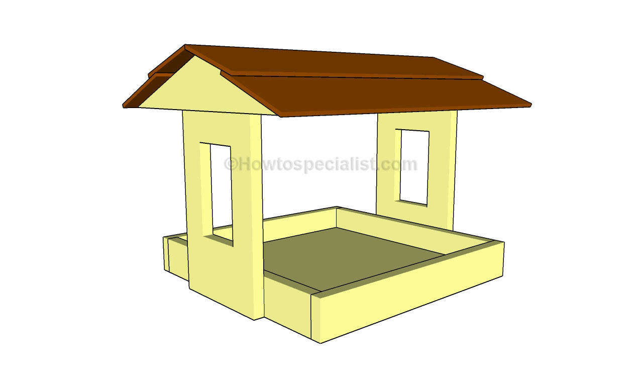 How to build a bird feeder howtospecialist how to for Simple bird feeder plans for kids