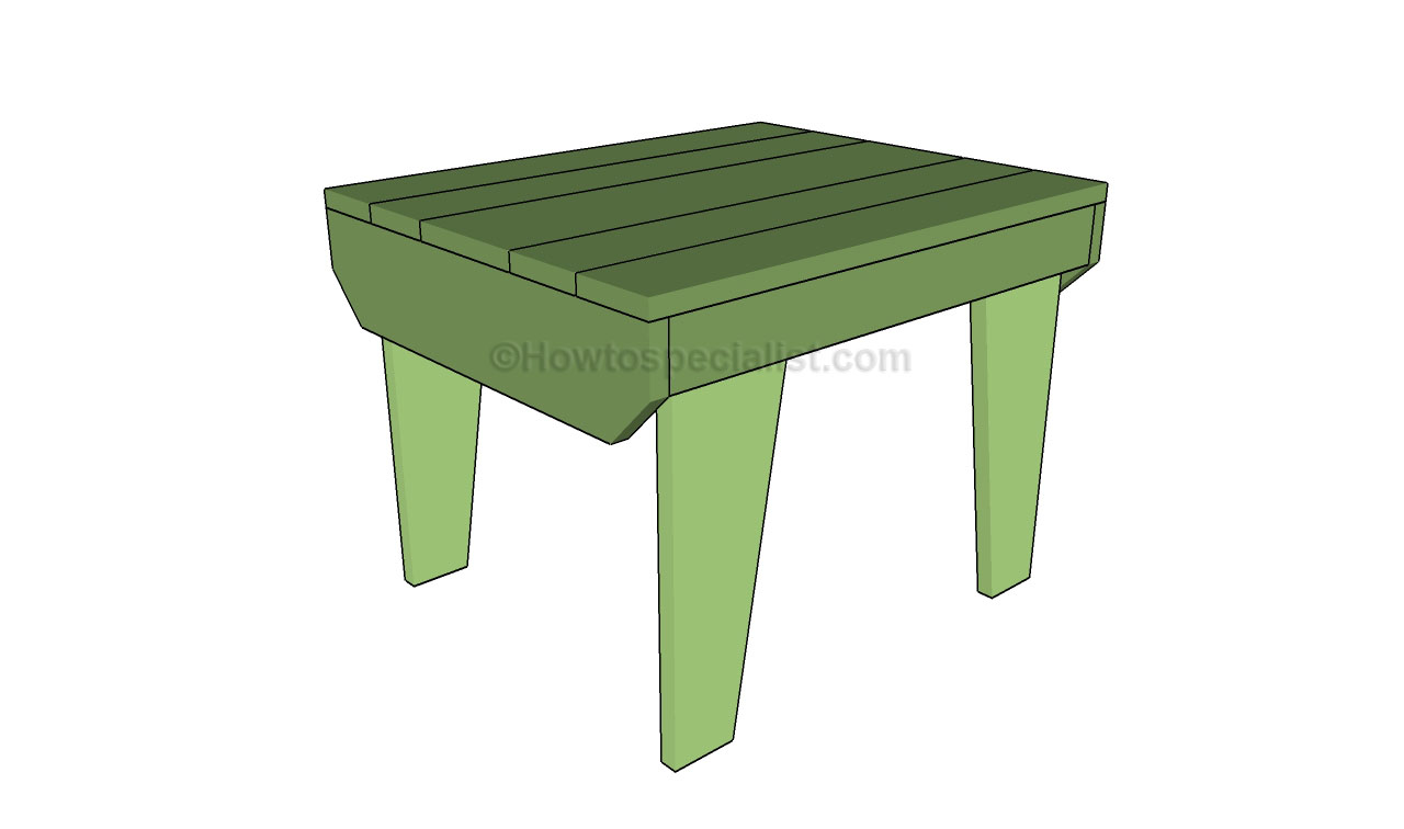 Diy build your own small end table plans free for Small table designs