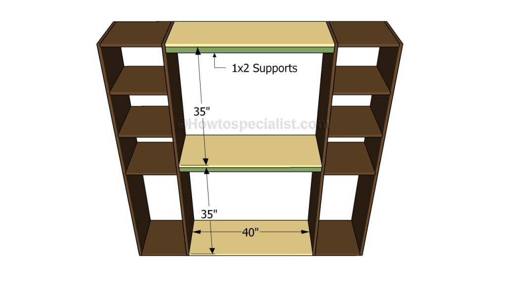 how to build a closet organizer plans