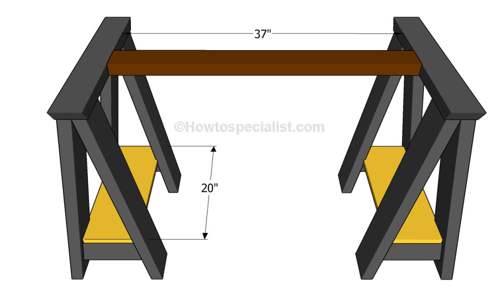 How to build a computer desk | HowToSpecialist - How to Build, Step by