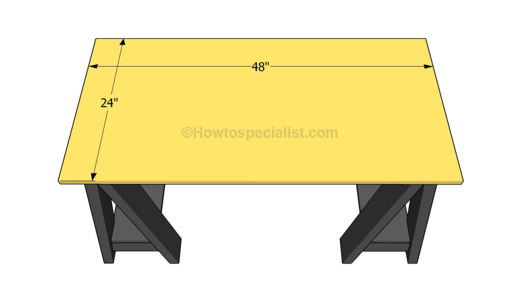 How To Build A Computer Desk From Scratch Pictures to pin on Pinterest