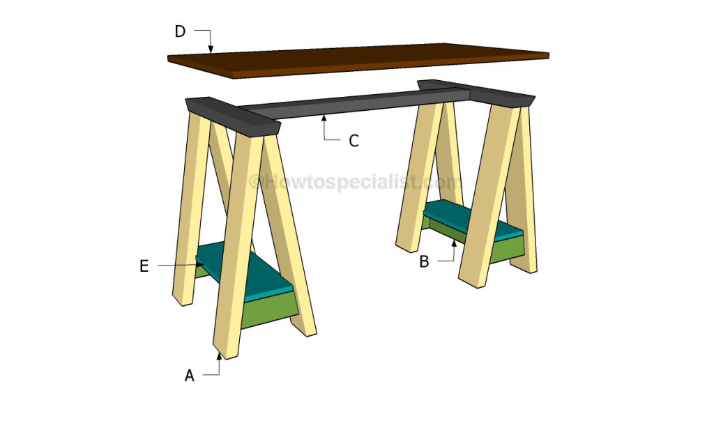 Building a computer desk