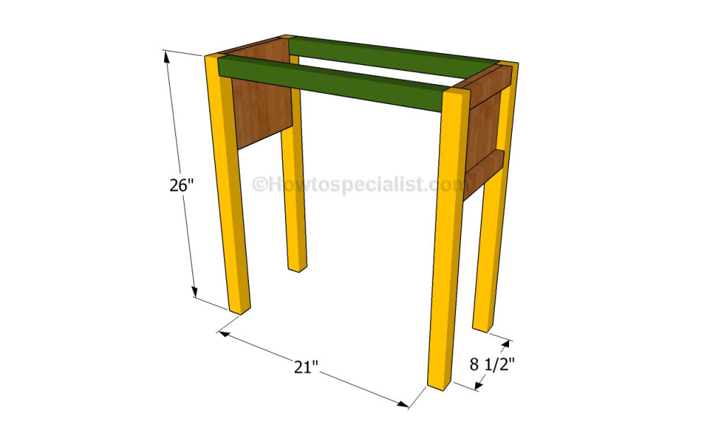 Bedside table plans | HowToSpecialist - How to Build, Step by Step DIY ...