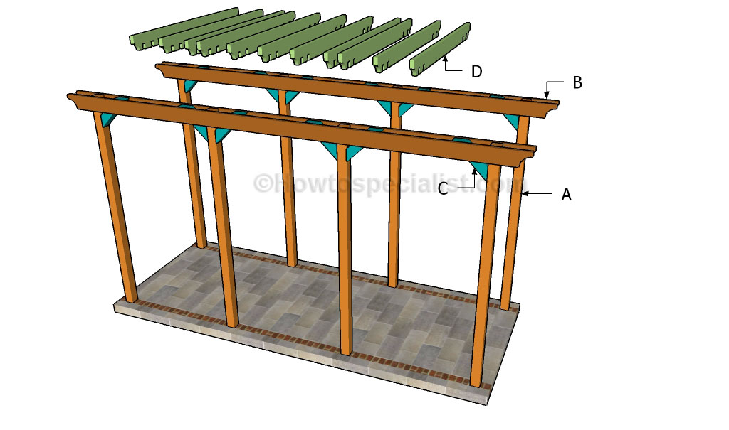 Grape Arbor Building Plans