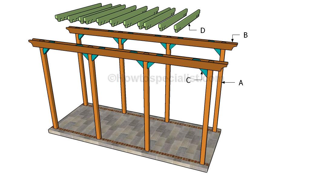 Building a grape arbor