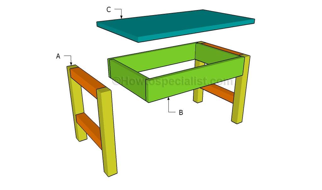 Building a lap desk