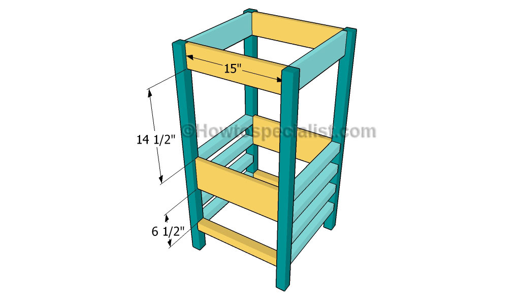 Learning Tower Woodworking Plans Awesome Red Learning