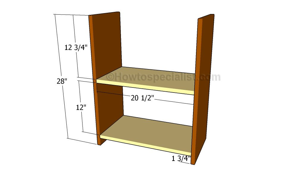 build simple wood bookcase | Woodworking Beginners Guide