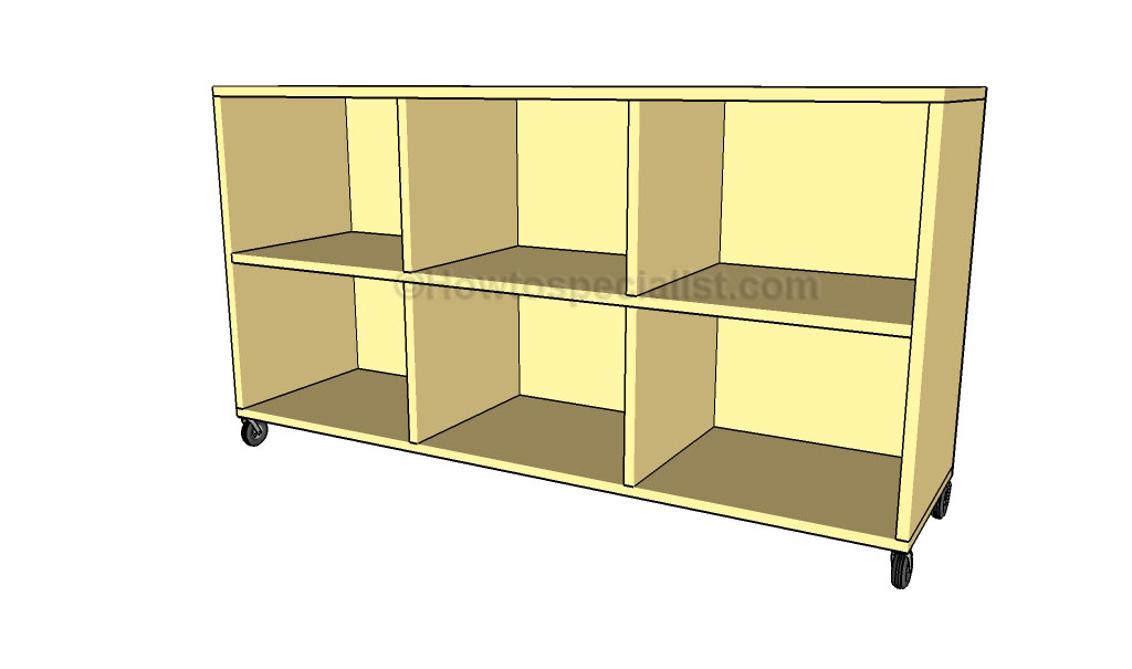 free simple bookcase plans