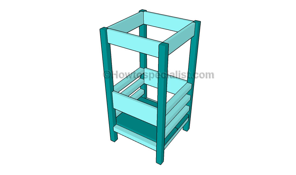 How to build a lemonade stand howtospecialist how to for Learning tower woodworking plans