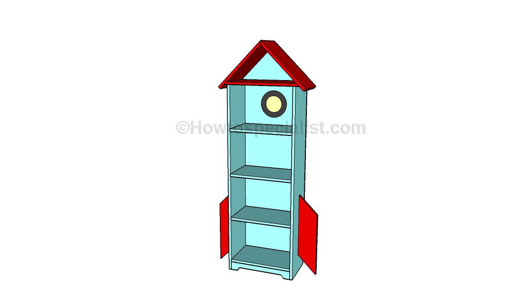Rocket bookcase plans | HowToSpecialist - How to Build, Step by Step ...