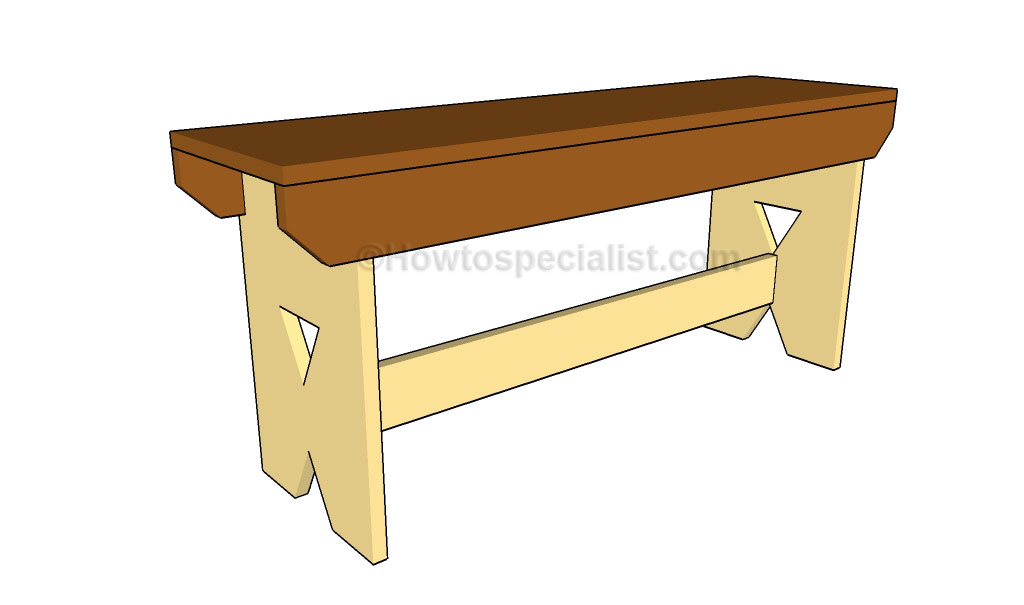 Simple Bench Plans How to build a picnic bench Wooden Bench Plans