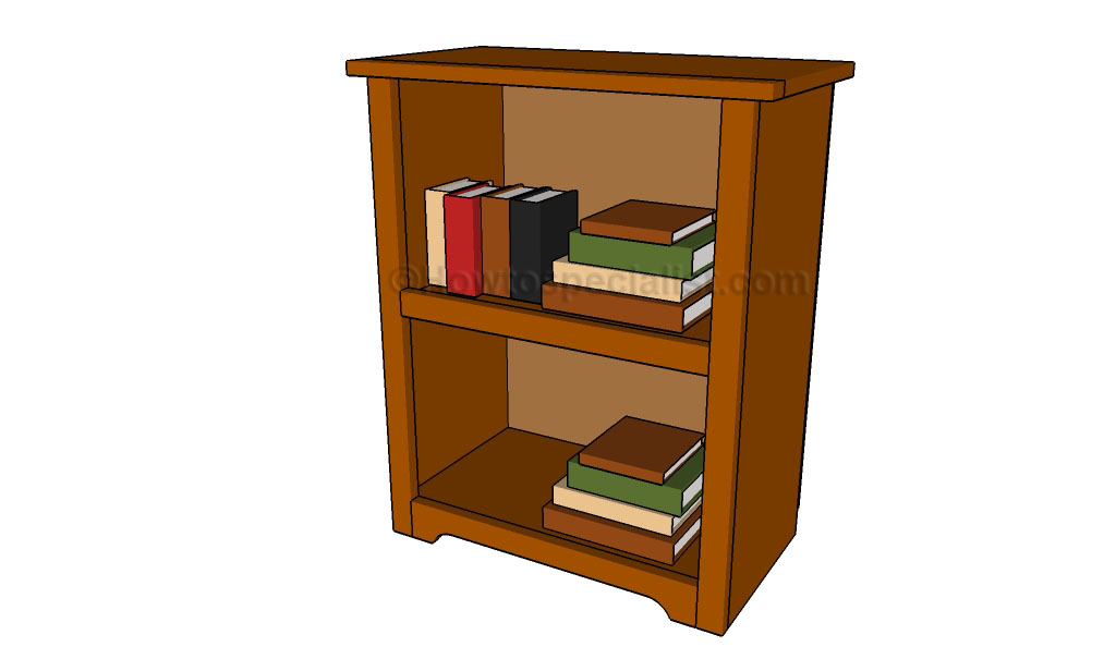 Simple bookshelf plans howtospecialist how to build - Bookshelf designs ...