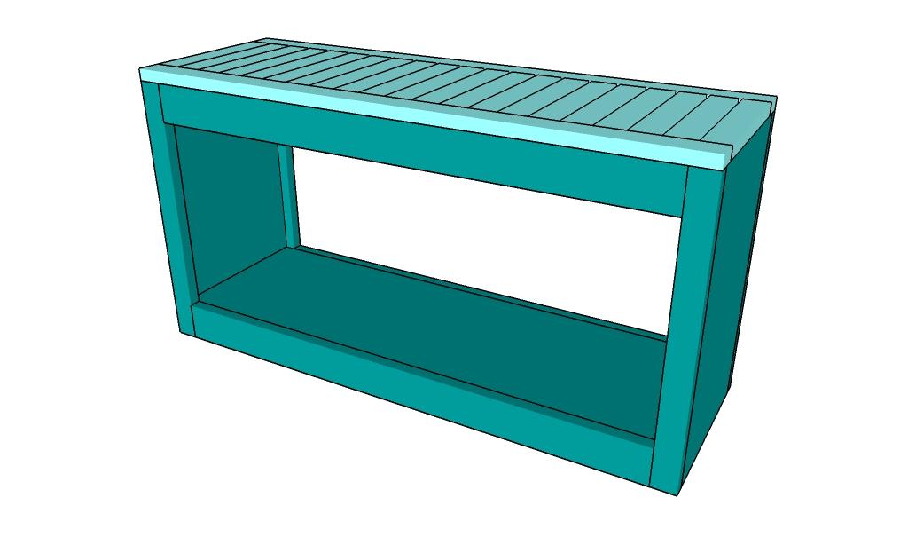 Spa bench plans