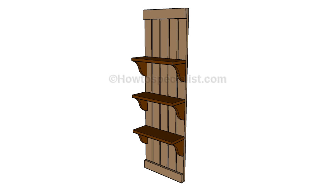 Wall Shelf Woodworking Plans
