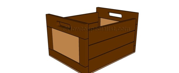 Wooden crate plans howtospecialist how to build step for Wooden chicken crate plans