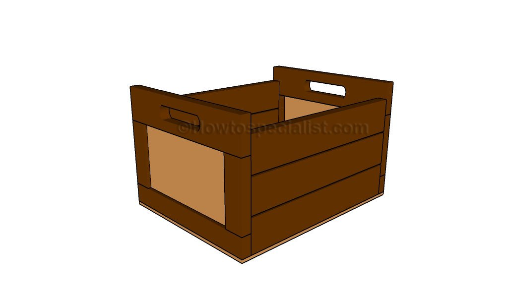 plans build wooden crate