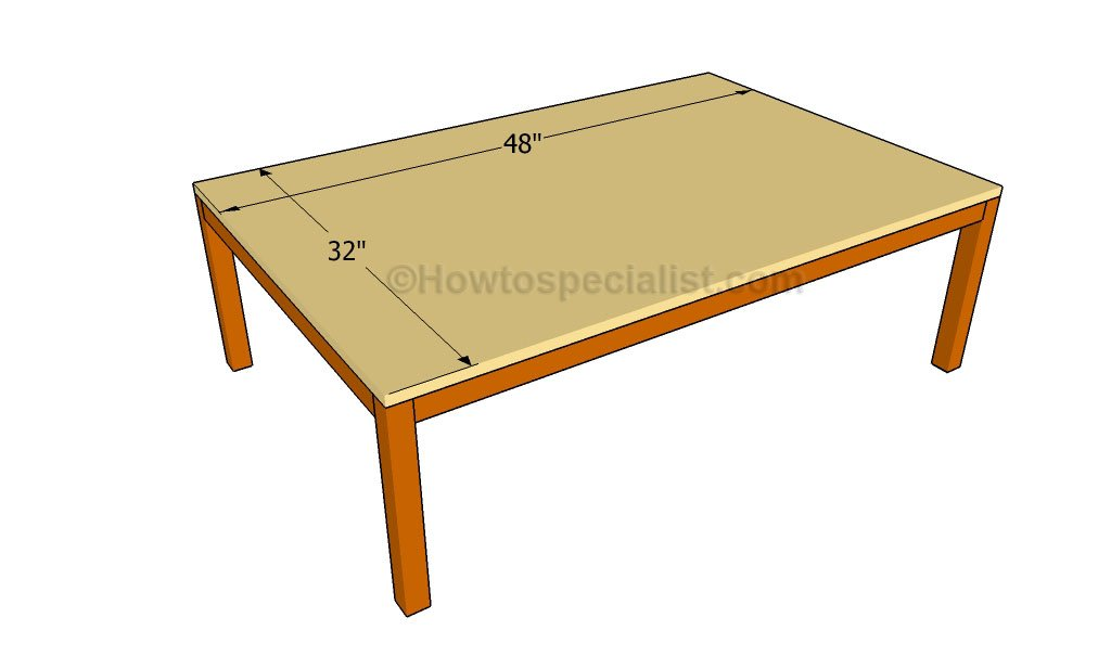How to build a play table howtospecialist how to build for Diy play table plans