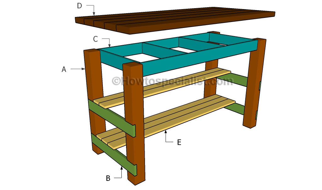 Diy Kitchen Island Plans Howtospecialist How To Build Step By Step Diy Plans