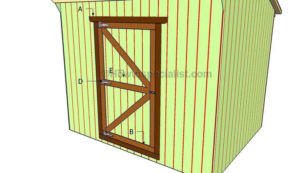 build shed door plans diy shed door design shed door design ideas - Shed Door Design Ideas