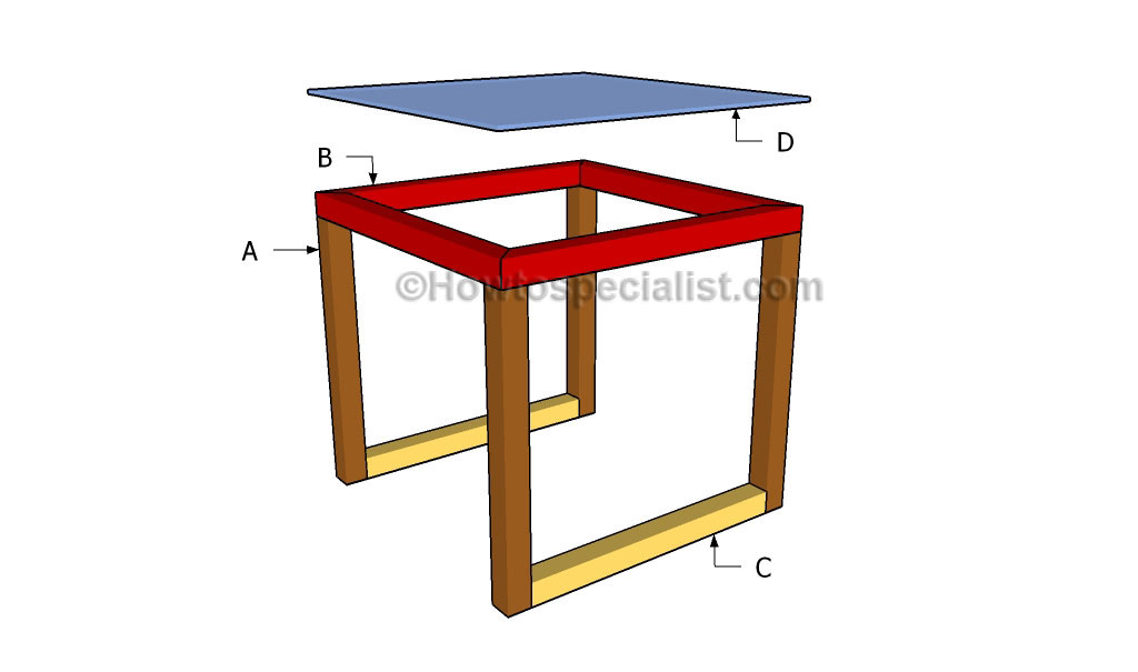 Glass End Table Plans HowToSpecialist How To Build Step By Step - How to build an end table