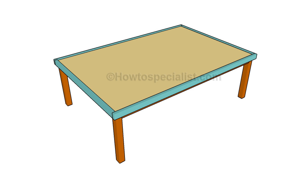 How to build a play table for Diy play table plans