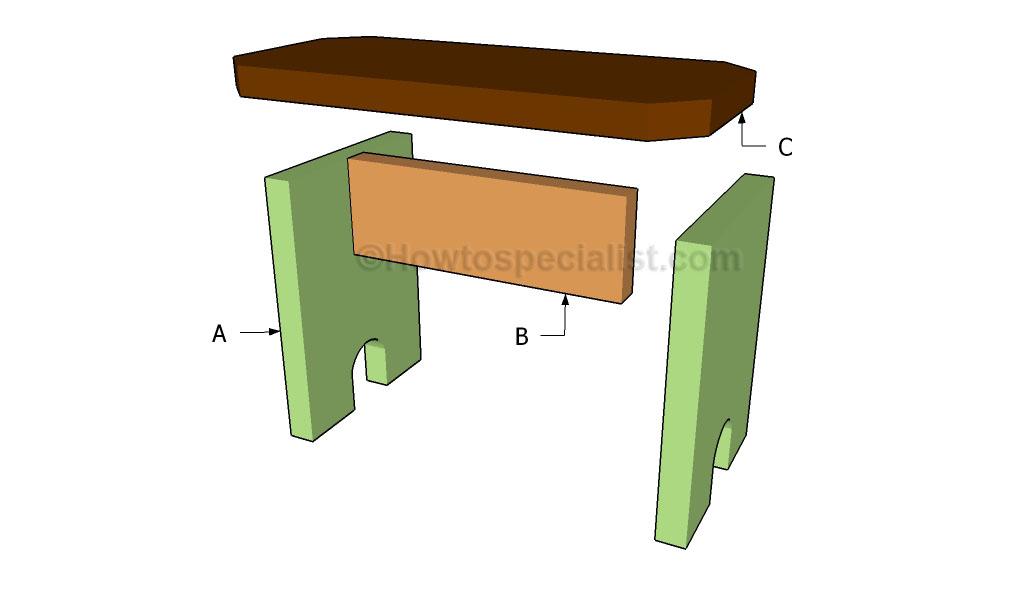 Building a picnic bench