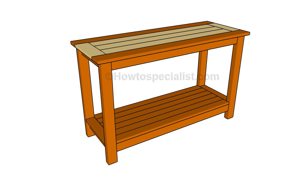 Console Table Plans