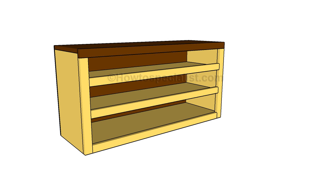 How to build a shoe bench