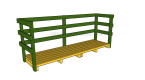 Nyi Imas Build Wooden Shed Ramp