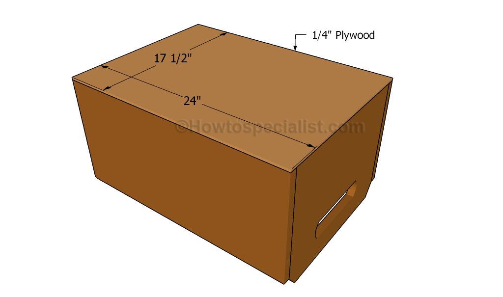 Amazing False Bottom Wooden Crate