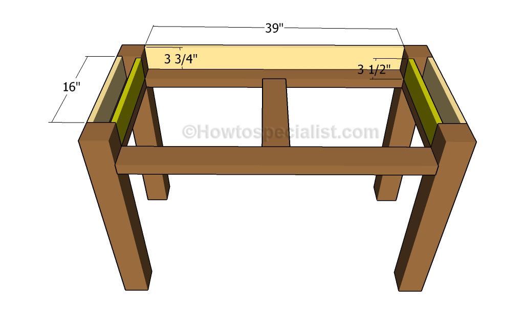 DIY Desk Plans | HowToSpecialist - How to Build, Step by Step DIY ...