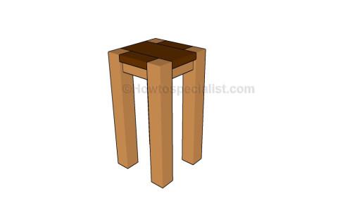 Bistro stool plans