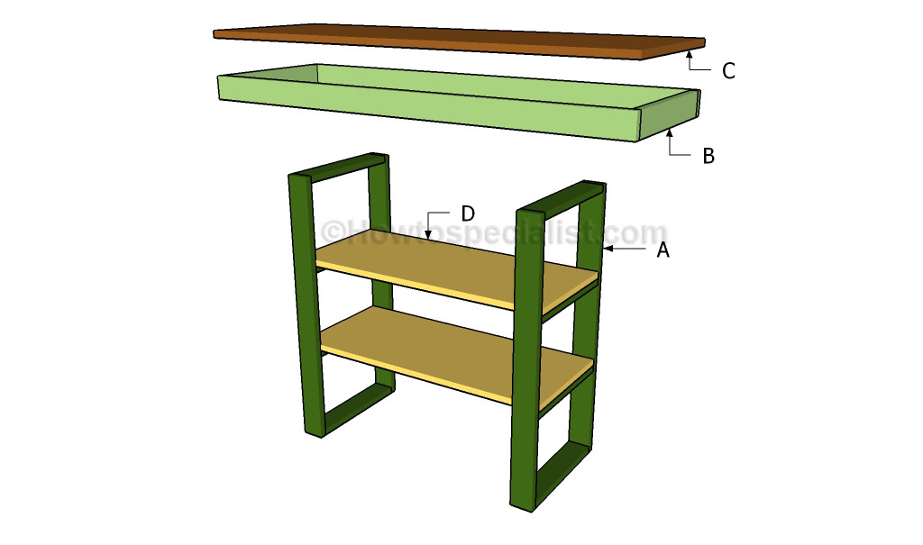 Building a console table