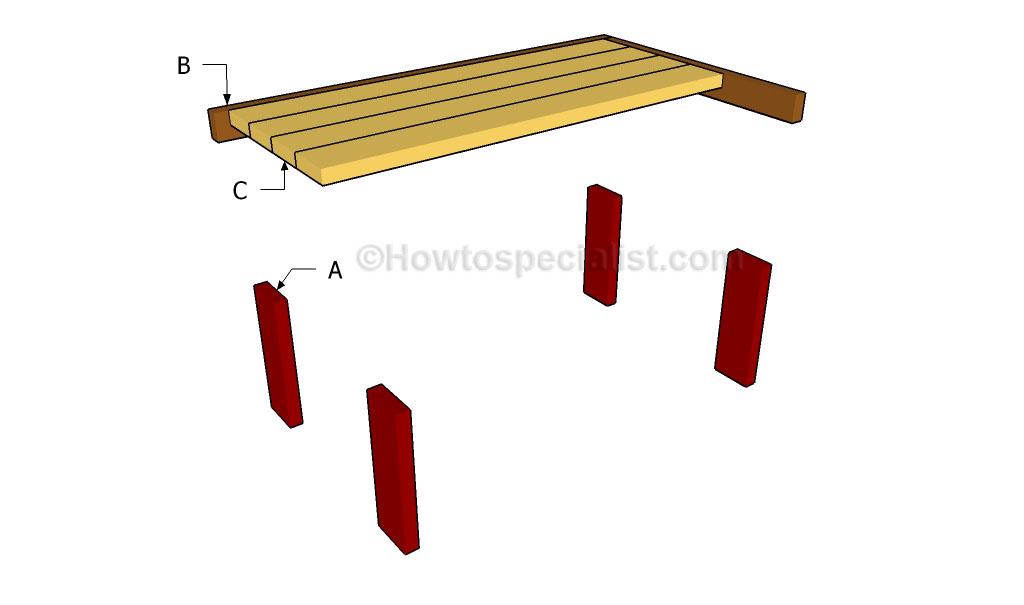 Building a laptop desk