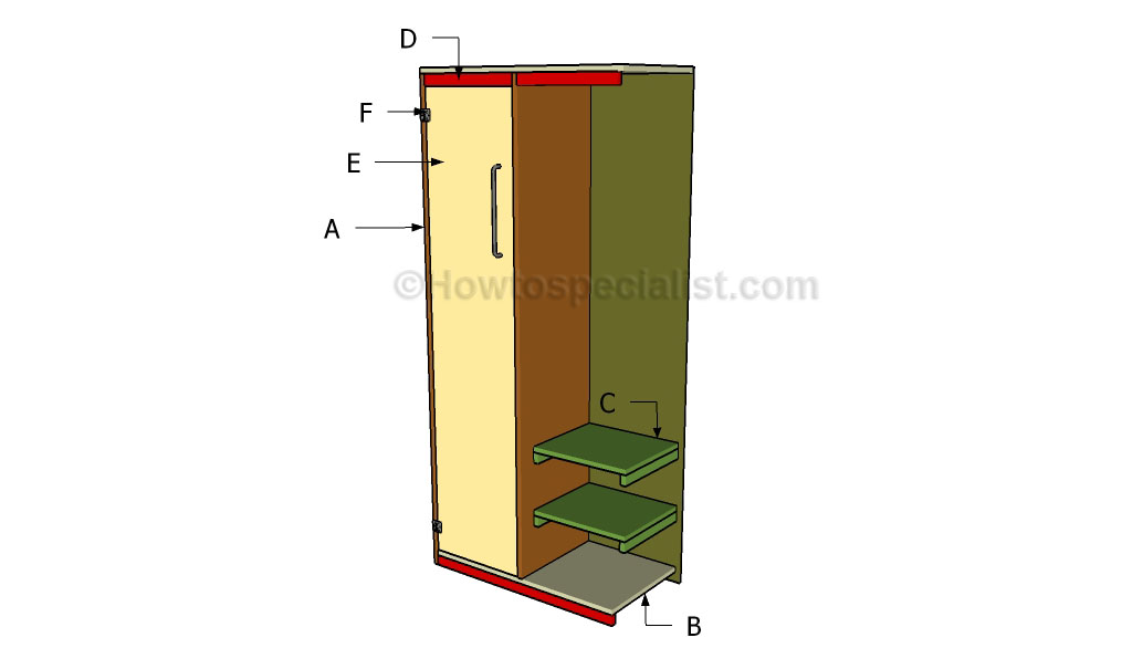 Plans To Build A Wooden Locker Plans DIY Free Download Firewood Holder ...