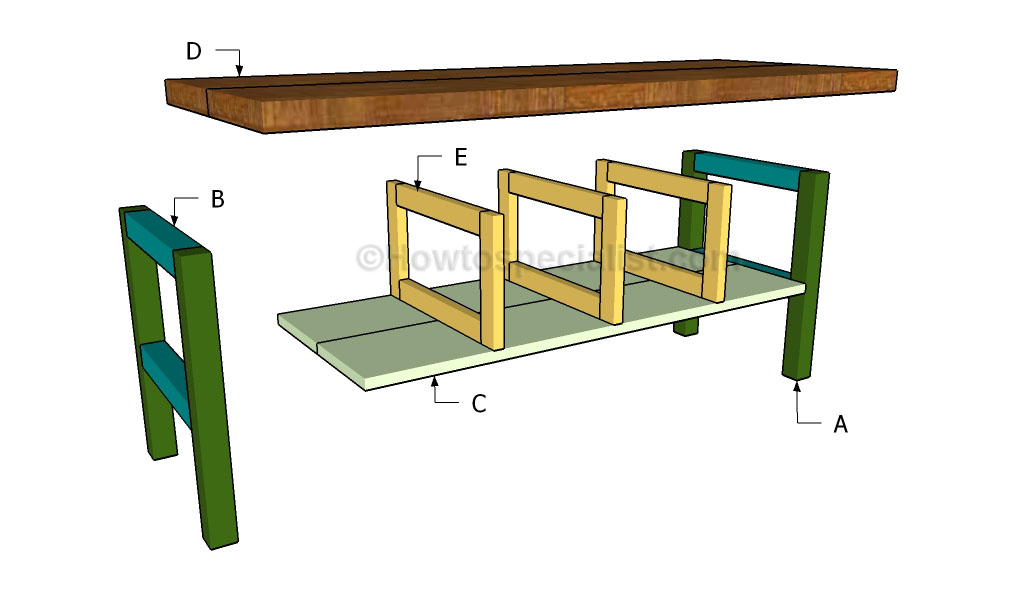 how to make a kitchen table higher