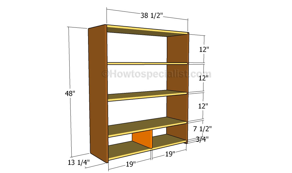 channing bookcase plans projects ana white diy