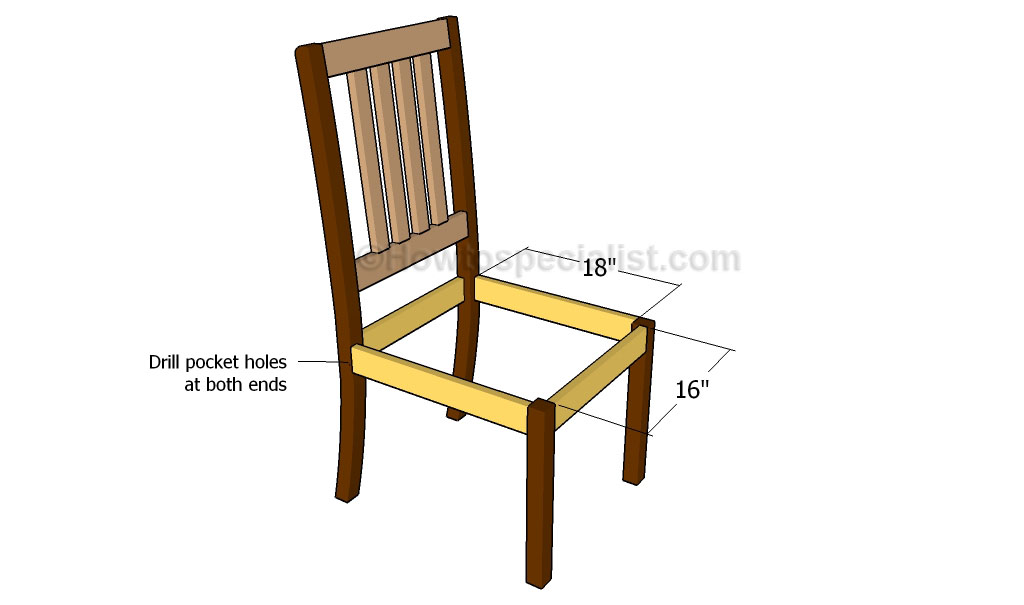 Kitchen Chair Plans | HowToSpecialist - How to Build, Step by Step ...
