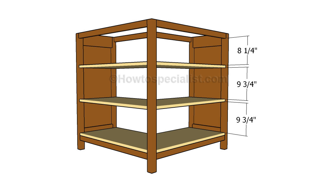 Permalink to woodworking plans corner bookcase