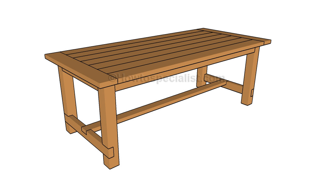 Harvest Table Building Plans