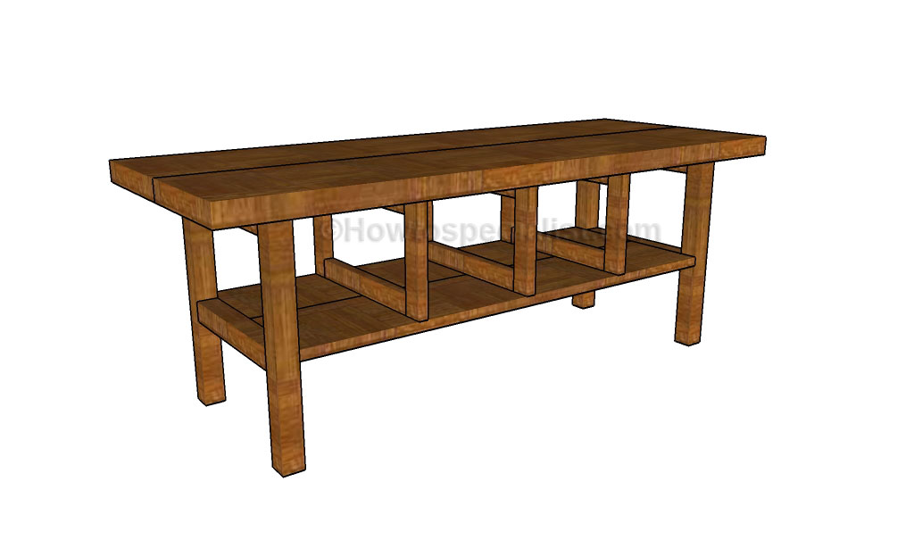 How to build a rustic kitchen table howtospecialist for How to build a small kitchen table