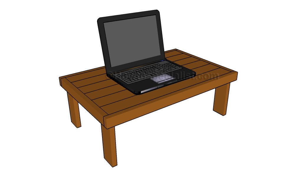 free woodworking plans laptop desk | Quick Woodworking Projects